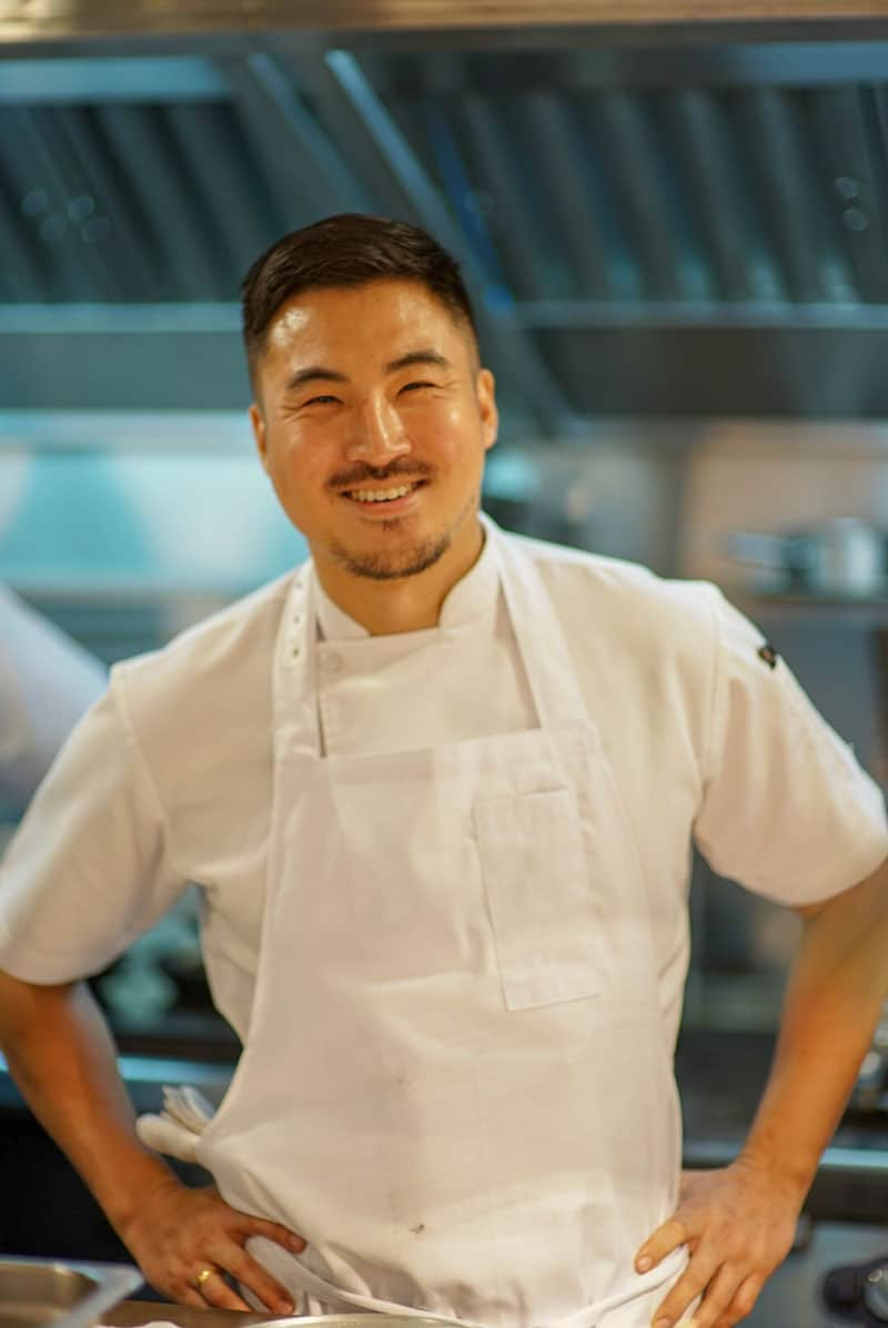 Chef Sun at Meta Restaurant