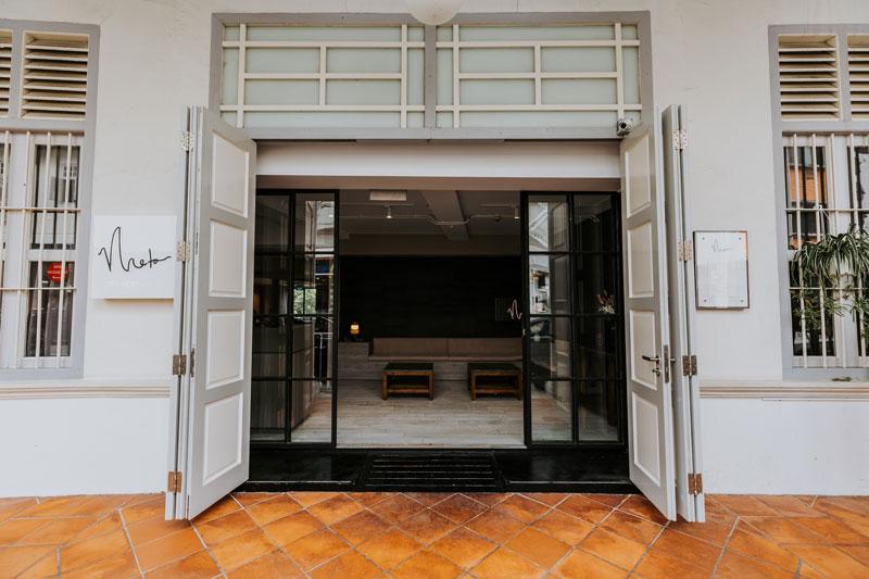 Meta Restaurant Entrance